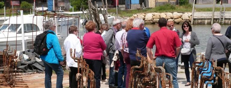 ETE 2020 – visites guidées du Port de Larros